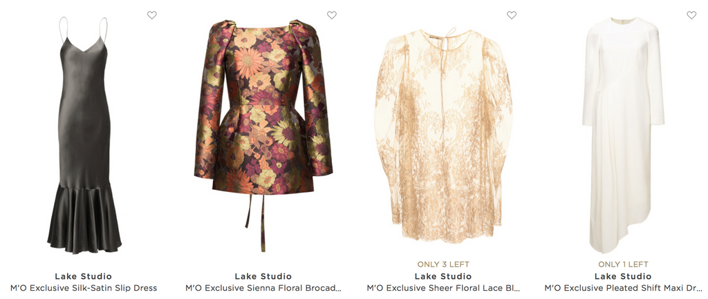 Lake Studio on Moda Operandi