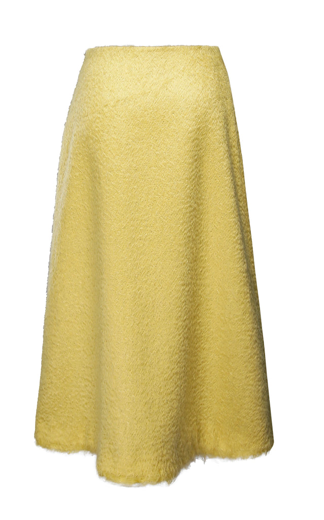 Shaggy Wool Skirt