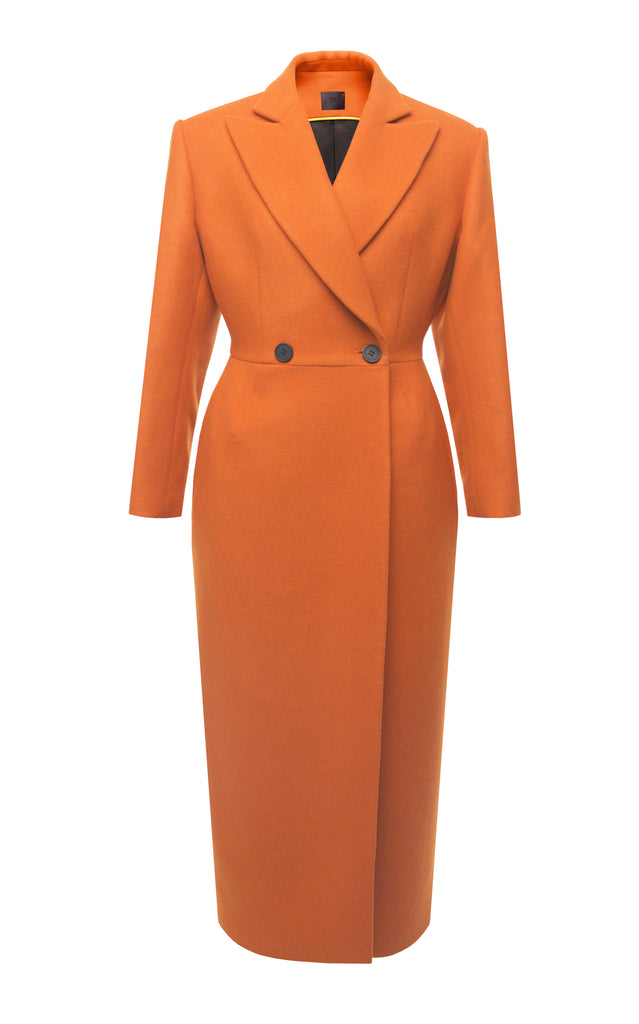Fitted Wool Coat