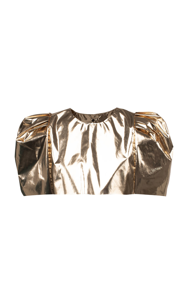 Shoulder Foil Top