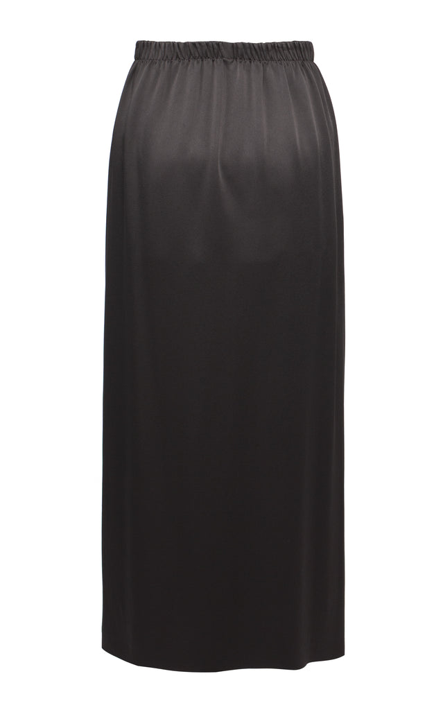 High-Waisted Midi Skirt