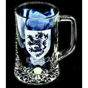 Pint Tankard Hand Engraved Family Crest