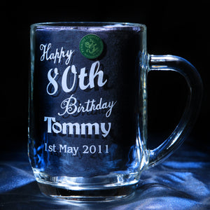 Happy Birthday Barrel Tankard - Penrose Crystal Waterford
