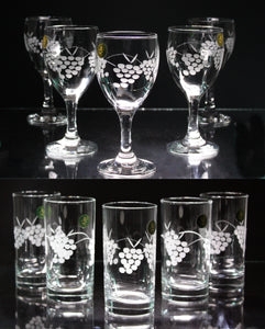 Special Offer: 6 Wines & 6 Tumblers only €40 incl. P&P! - Penrose Crystal Waterford