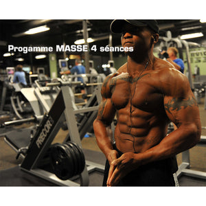 Coaching musculation prise de masse landes