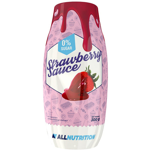Sauce Fraise 0% All Nutrition 300g
