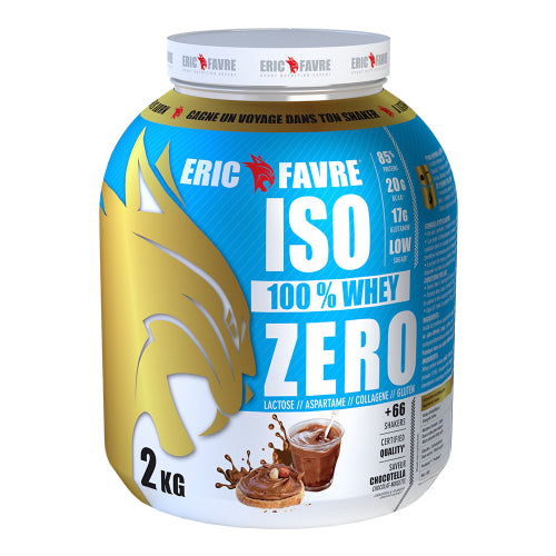 Iso Zero Eric Favre|West Coast Nutrition