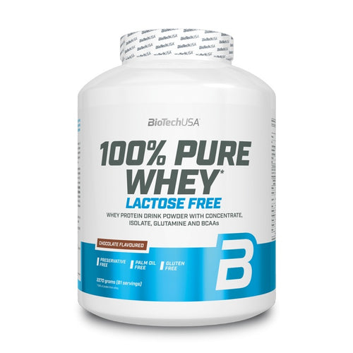 100% PURE WHEY Free Lactose