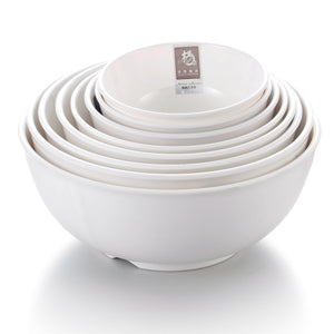 4.5 Inch White Round Melamine Cereal Bowl Set 1141GC