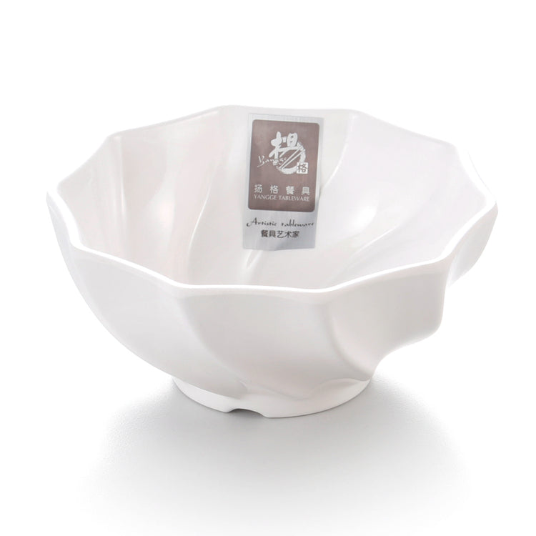 4.75 Inch White Melamine Ice Cream Bowl 24604GC
