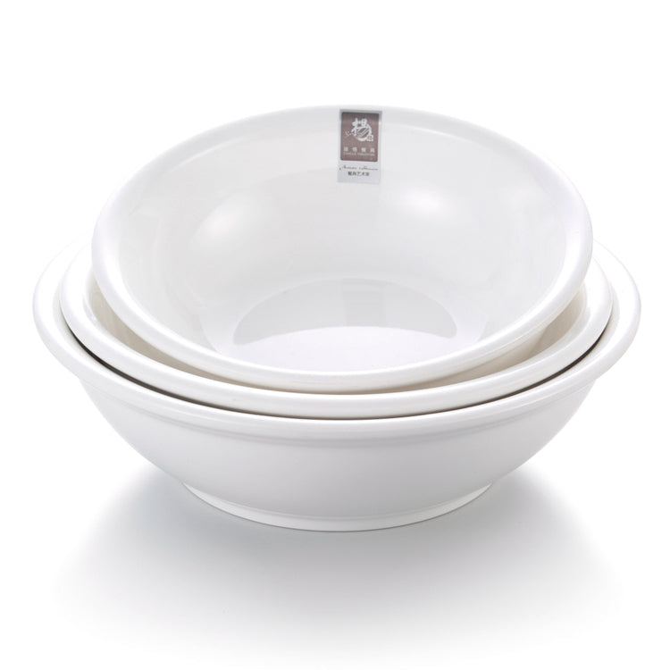 11 Inch White Large Melamine Chinese Soup Bowl 51111GC