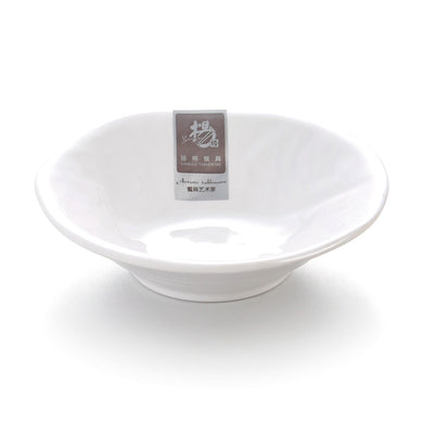 5 Inch Small White Melamine Serving Bowls 5506GC