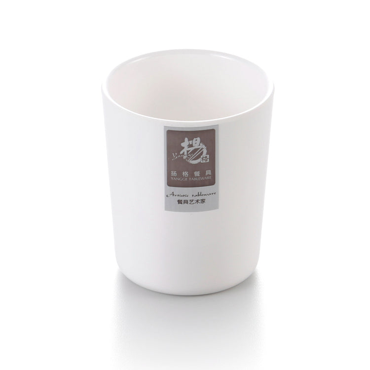 2.7 Inch Reusable White Melamine Drinking Cup 886GC