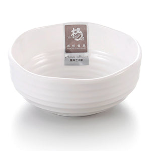 4.25 Inch Non Slip White Small Melamine Cereal Bowl B10043GC