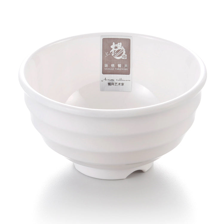 4.5 Inch Custom Design White Small Melamine Cereal Bowl B280GC