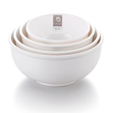 5 Inch White Round Melamine Serving Bowl Sets D5005GC