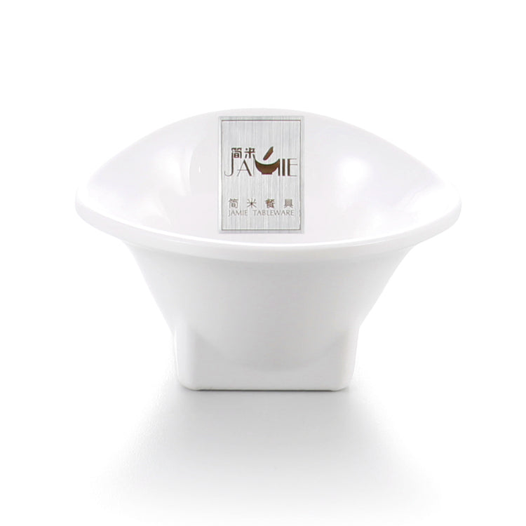 3.5 Inch White Melamine Ice Cream Bowl J134750GC