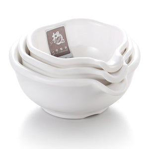 Custom White Small Melamine Sauce Bowls J139GC