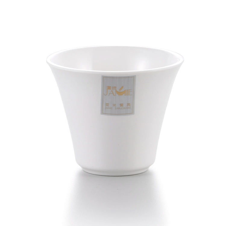 3.2 Inch White A8 Melamine Drinking Cup J173070GC