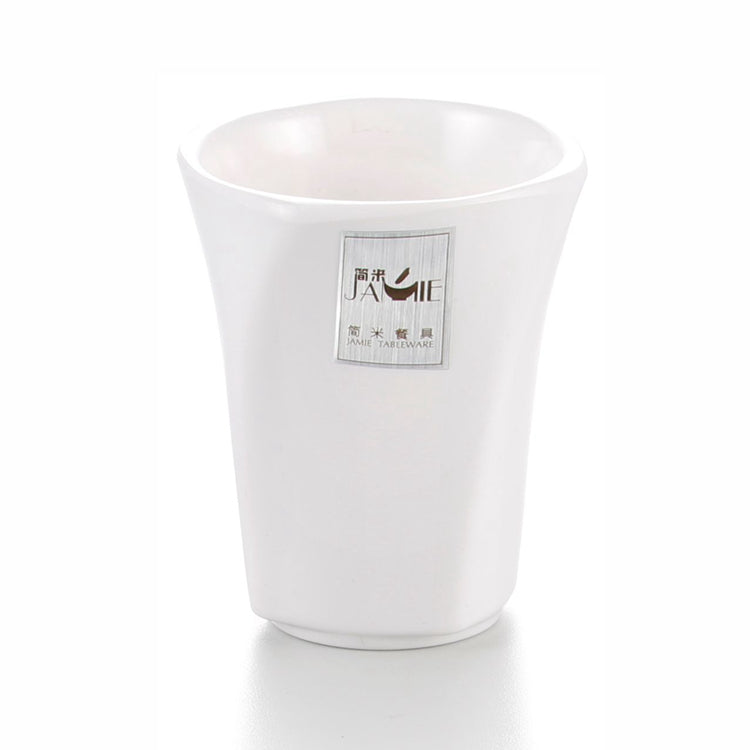 Anti Slip White Melamine Drinking Cup J576800GC