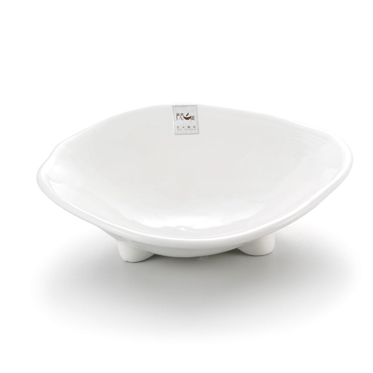 12 Inch Triangle White Melamine Serving Bowls J636700GC