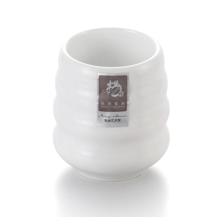 Custom White Small Melamine Drinking Cup L701888GC