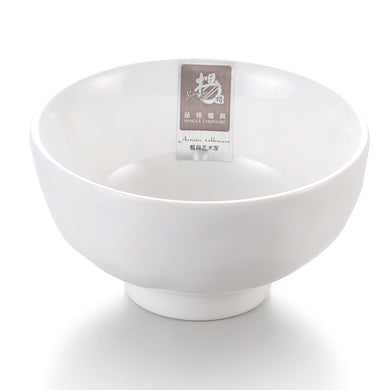 4.7 Inch White Small Melamine Rice Bowl Y2001GC
