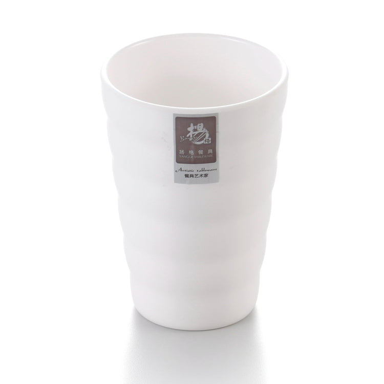 3.3 Inch White Long Melamine Cold Drink Cup YG142049GC