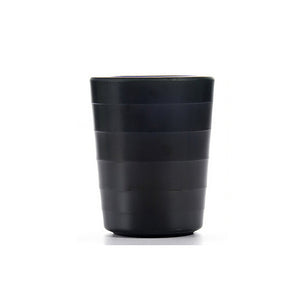 3 Inch Matt Black Small Melamine Cup 7302MS