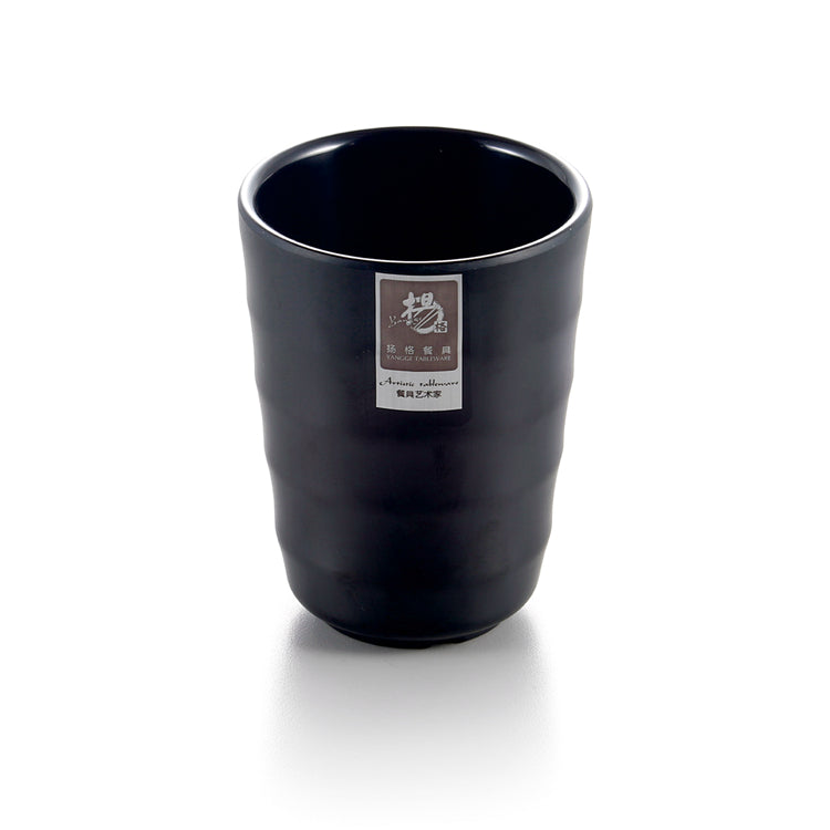 3.8 Inch Matt Black Restaurant Melamine Water Cup 75162MS