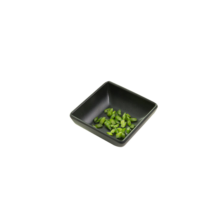 3 Inch Black Mini Melamine Square Dish MS7529MS