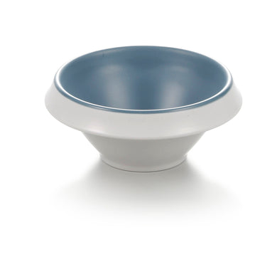 4.8 Inch Blue And White Round Melamine Deep Bowl