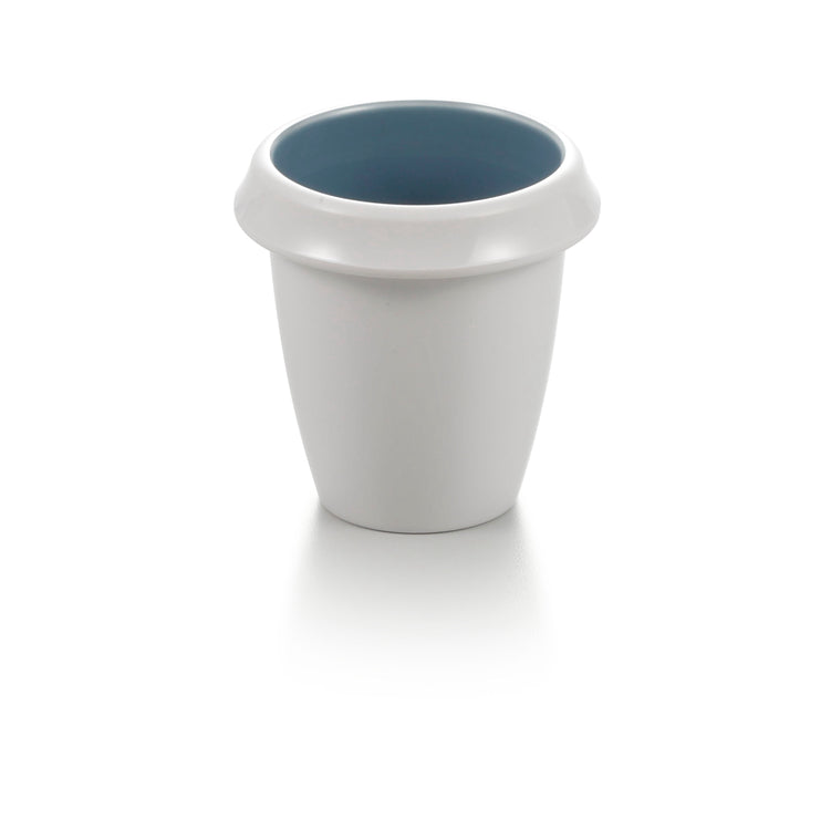 3.3 Inch Blue and White Restaurant Drink Cup 25039LBSS
