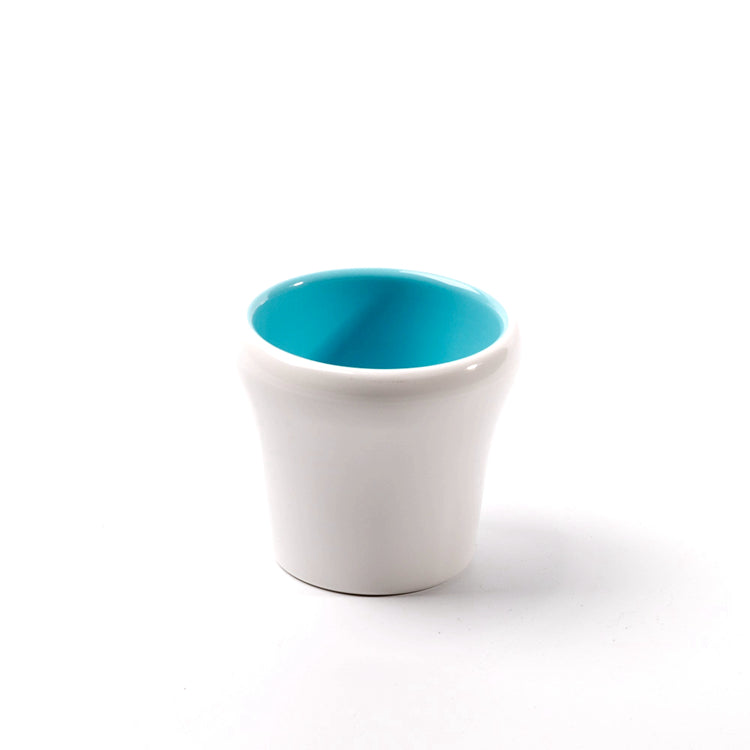 3.1 Inch Cyan and White Small Restaurant Melamine Drink Cup 25045QBSS