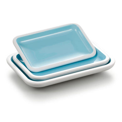 7.5 Inch Restaurant Rectangular Melamine Food Plate BT18011QBSS