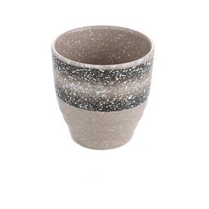 3 Inch White Spot Melamine Drink Cup JW2024DH