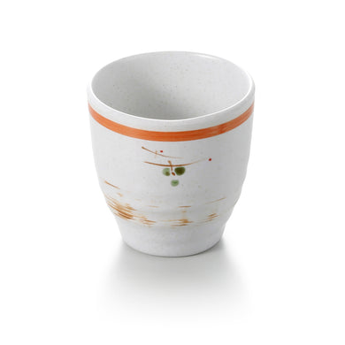 3 Inch Orange Rim Melamine Drink Cup JW2024YYZQ
