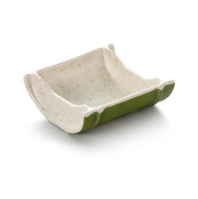 3.3 Inch Bamboo Color Melamine Sauce Dish 19001QSCZ