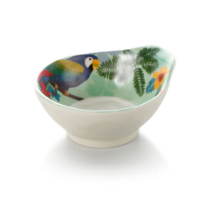 4.5 Inch Colorful Single Ear Melamine Small Bowl 39045HNZC