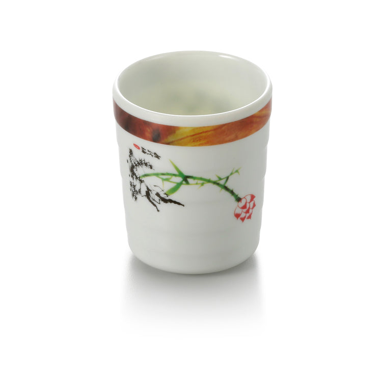 2.8 Inch Lotus Melamine Drink Cup 73028HTYS
