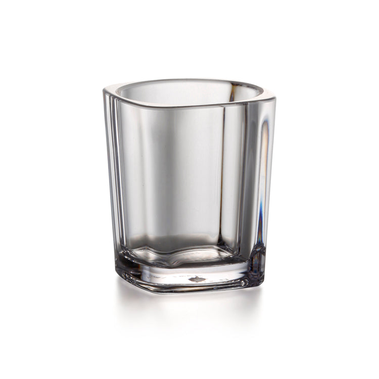 65ml Transparent PC Square Double Wall Cup YG8830TM