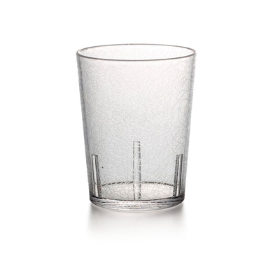 365ml Transparent Non Slip PC Plastic Glass Cup YG8953TM