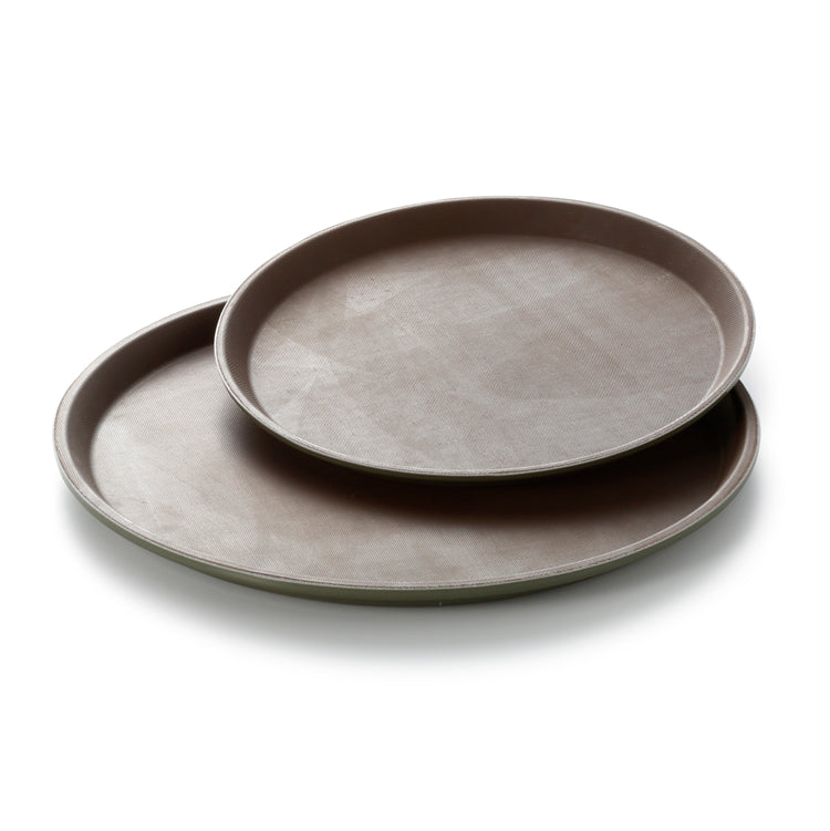 28cm Round Plastic Pizza Serving Trays 1100TPGHMT