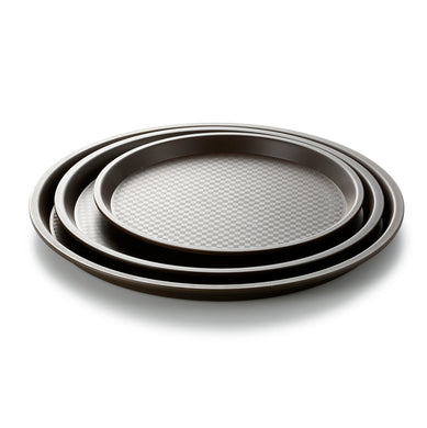 Anti Slip Round Plastic Food Trays JB1200TPZS