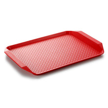 Load image into Gallery viewer, 43X30cm Non Slip Full Colors Rectangle Fast Food Serving Trays JB803TPBS