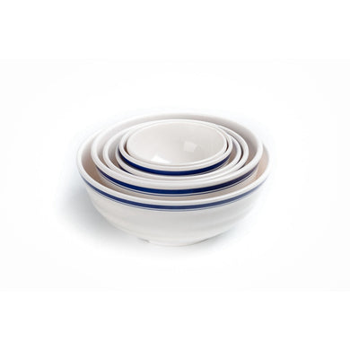 New Design Blue Rimmed Small Melamine Cereal Bowl