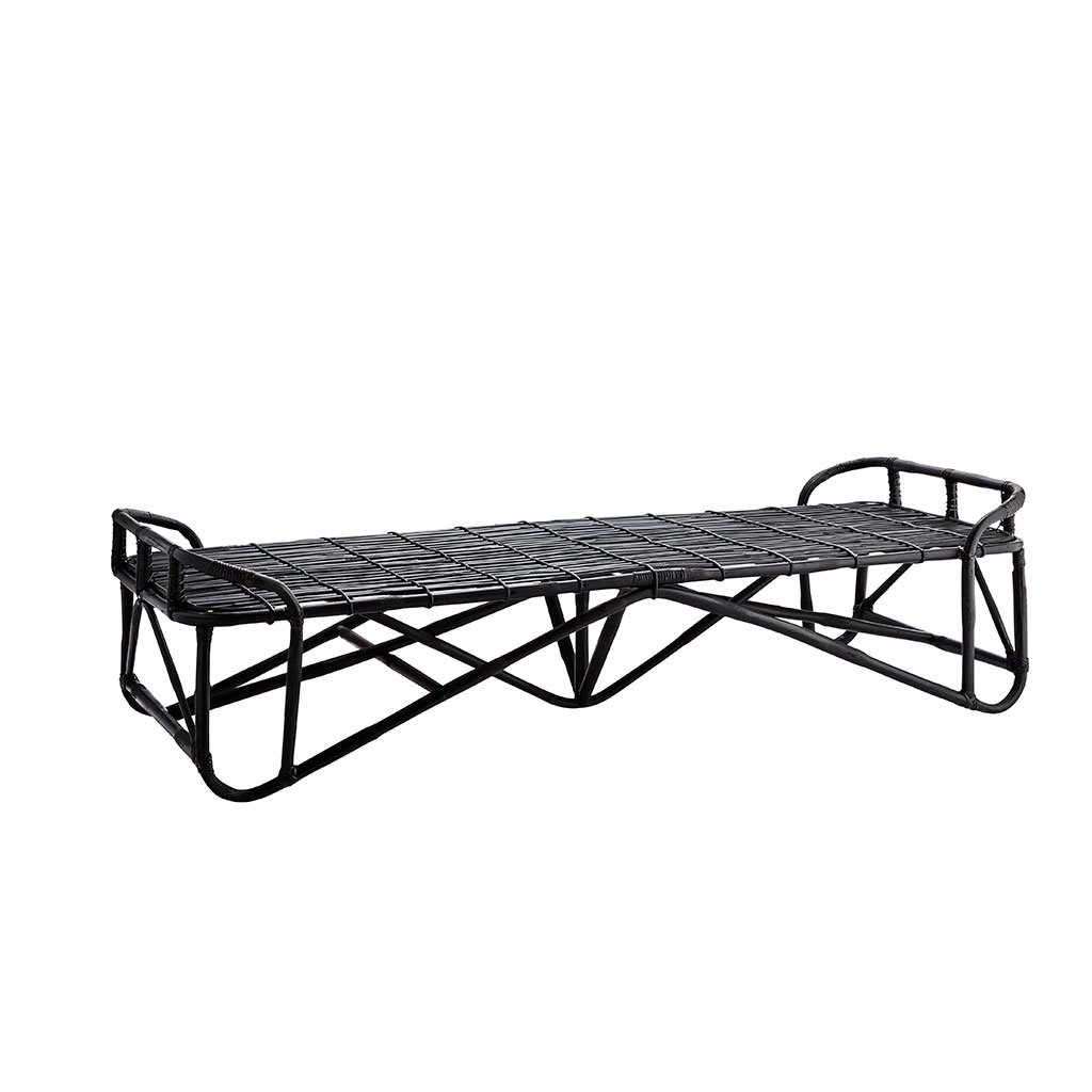 Daybeds - Sort Bambus Daybed