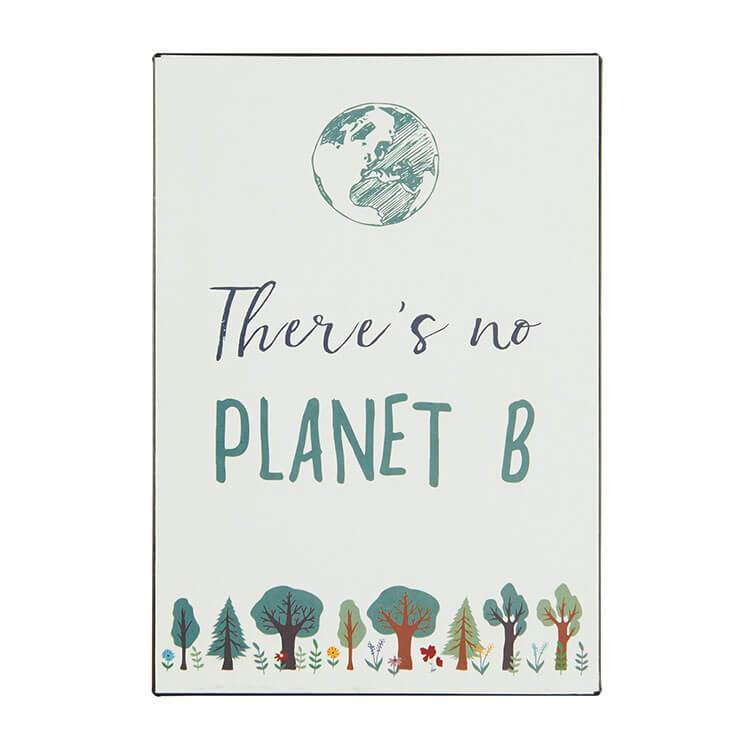 Decor - Metalskilt | There Is No PLANET B