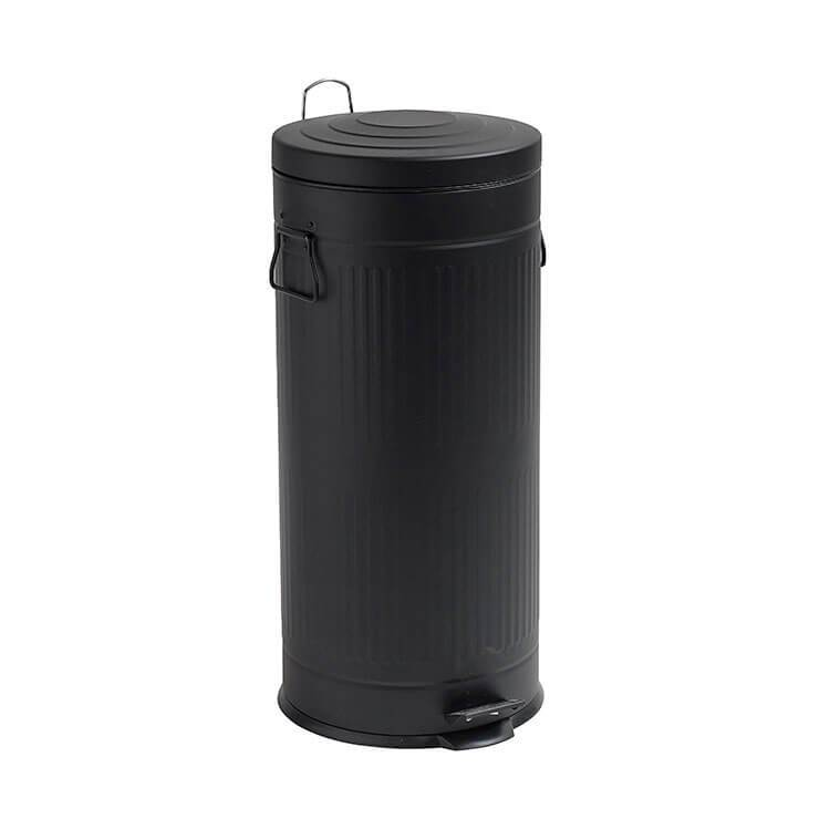Skraldespand - Pedalspand | 30 Ltr. | Mat Sort