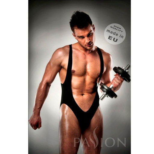 Body 011 Jockstrap Black Men Lingerie By Passion S/m